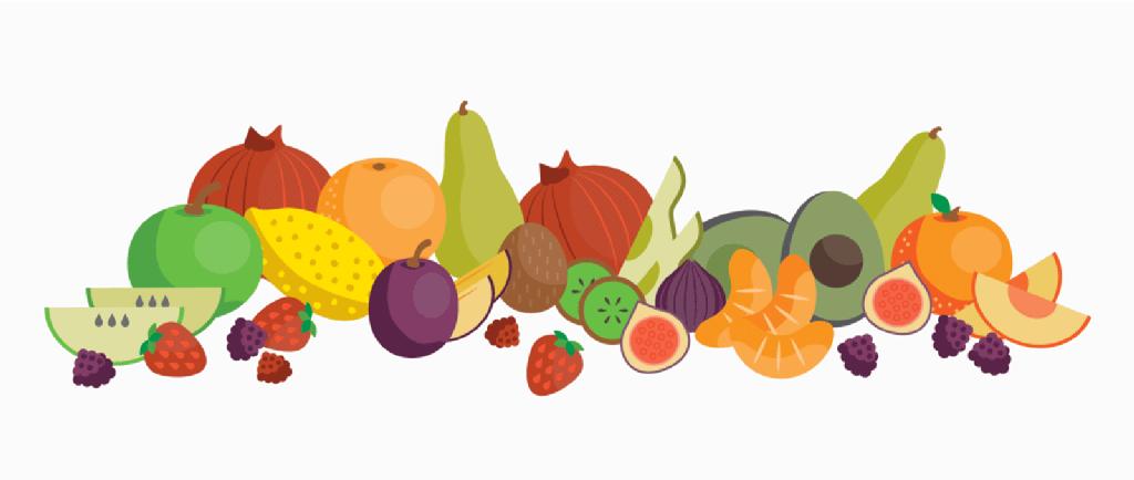 میوه و سبزیجات در تغذیه عروس هلندی